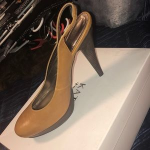 NEW Platform slingbacks